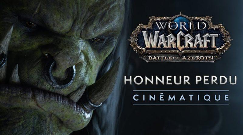 Cinématique 8.1 : Honneur perdu
