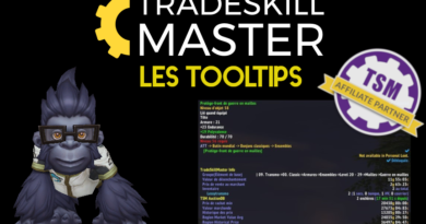 TradeSkillMaster – Les tooltips